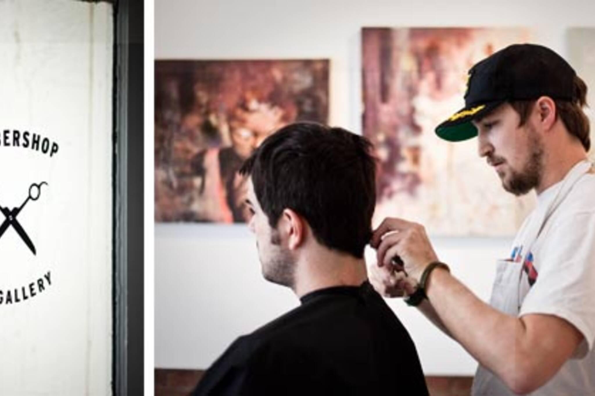 Adam Hilborn of The Barbershop