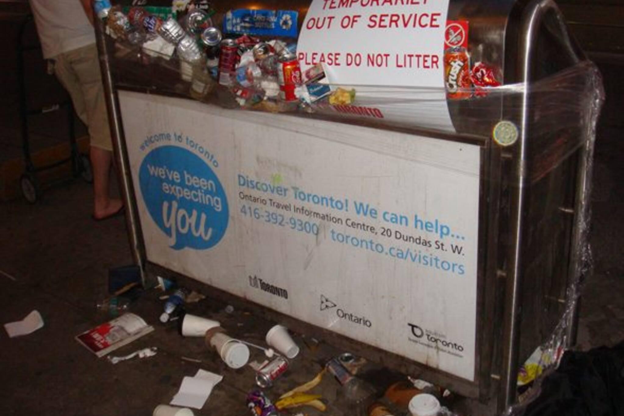 Toronto Garbage Strike Day One