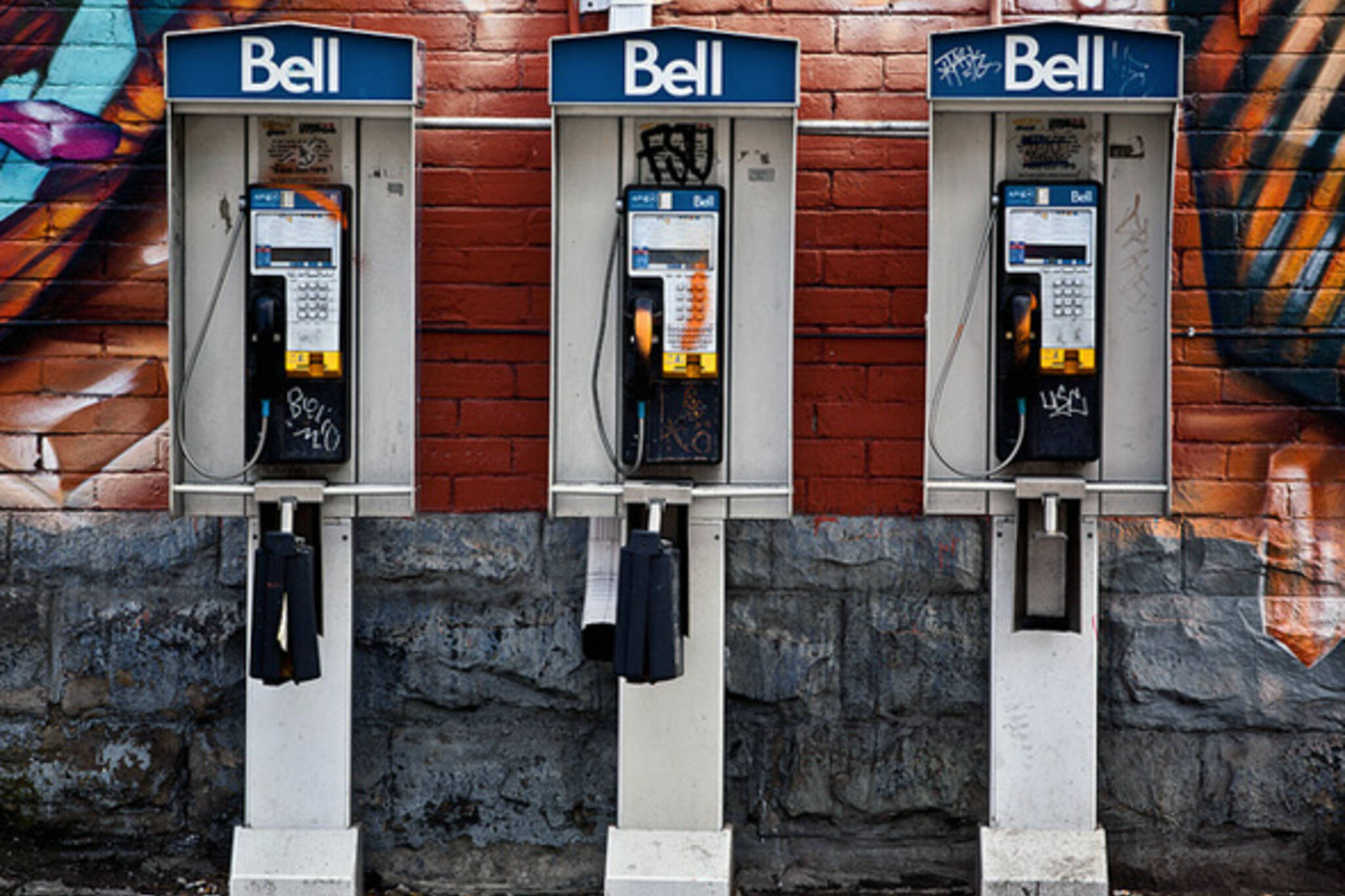 Phone booth Toronto Bell