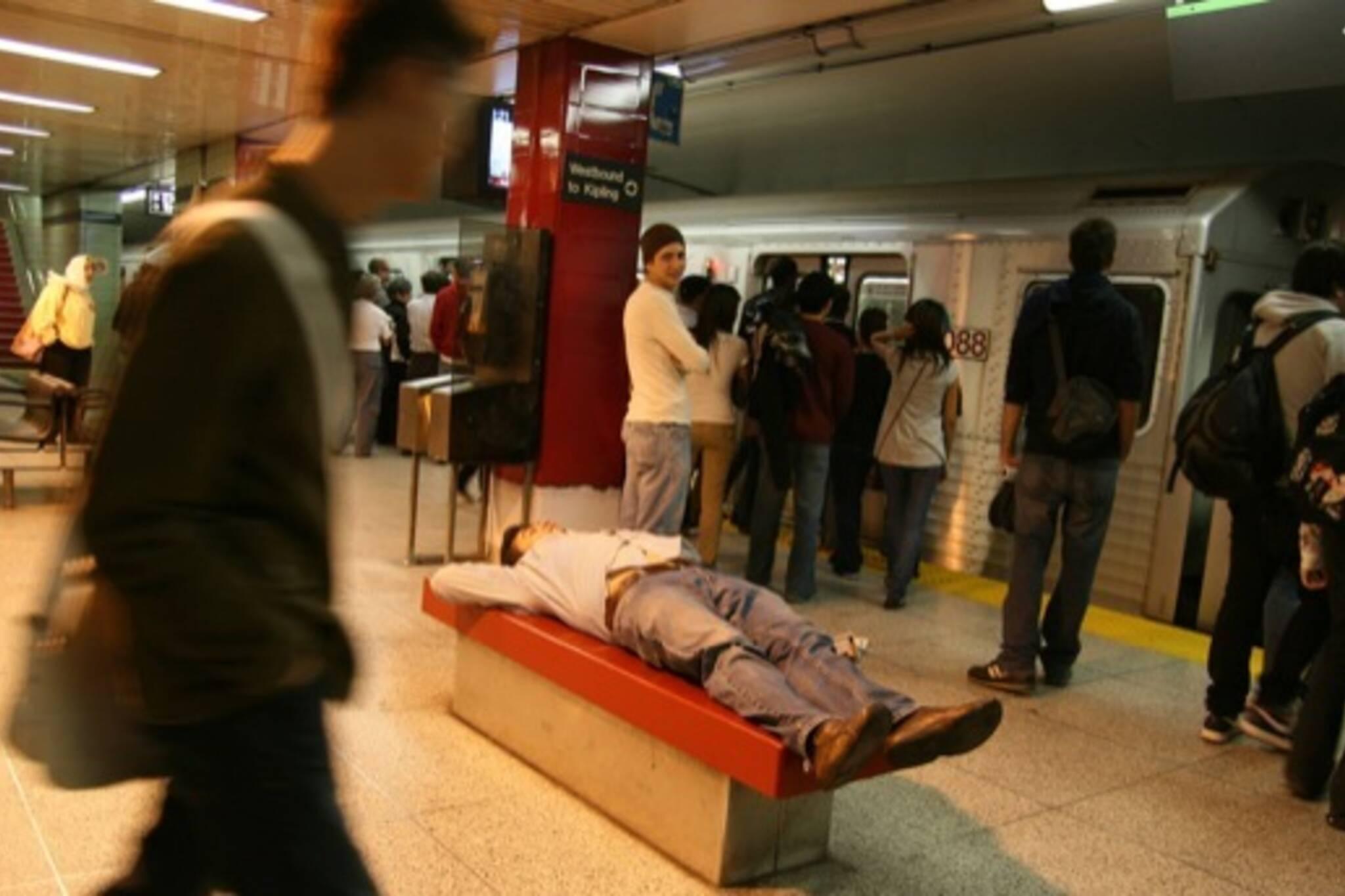 Late Night Subway