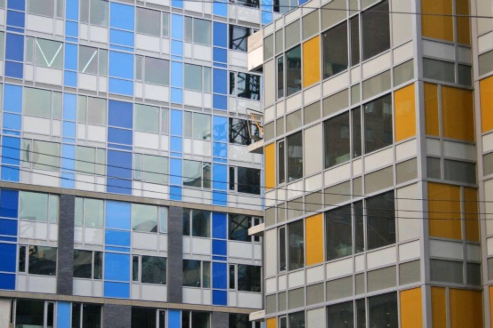 Toronto architecture colour