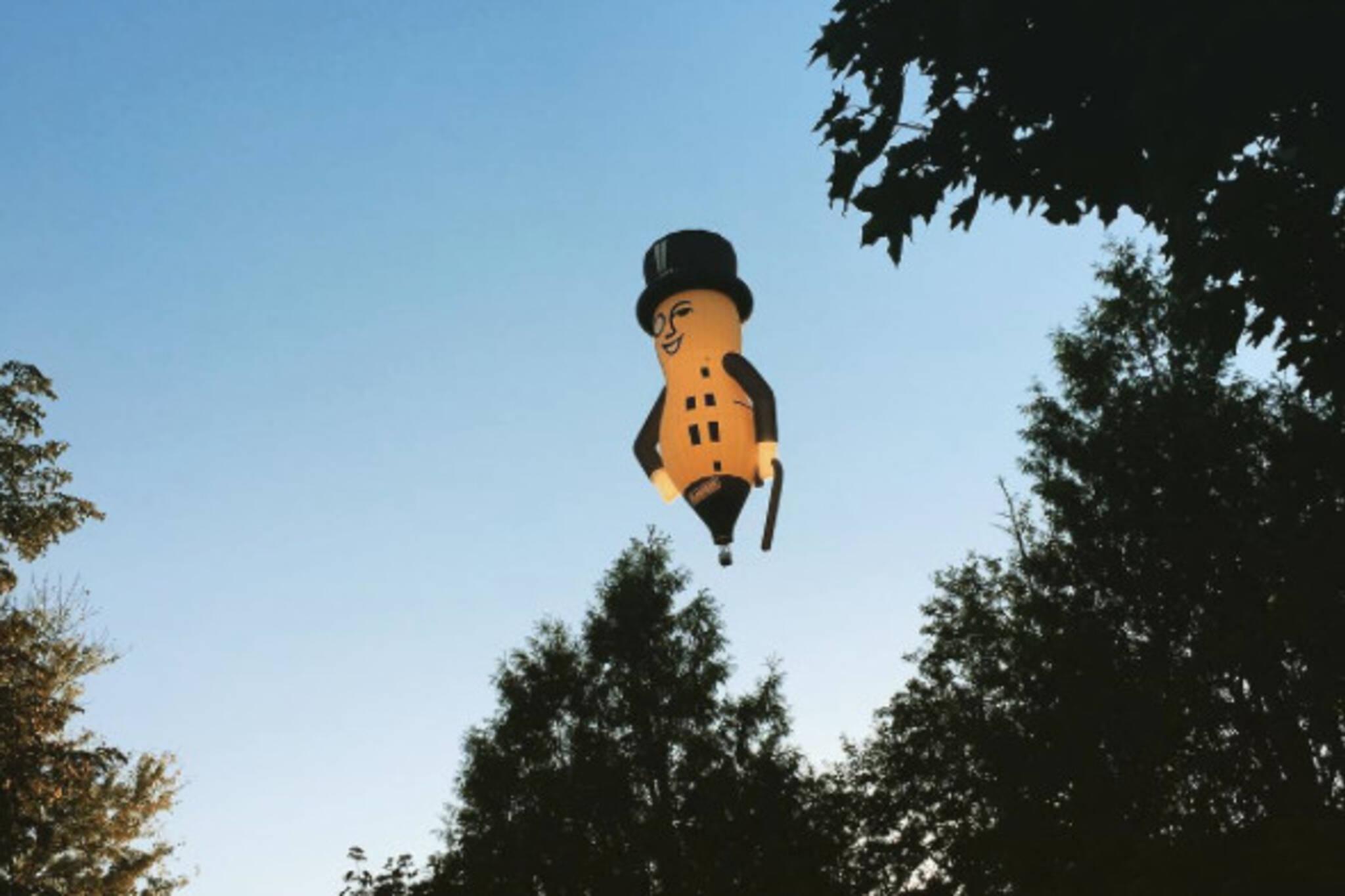 Mr Peanut Balloon Toronto