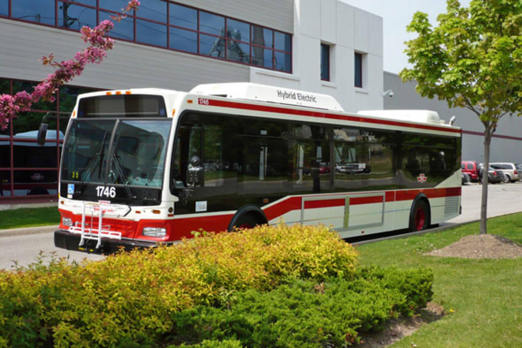 TTC Hybrid Bus Orion NG VII
