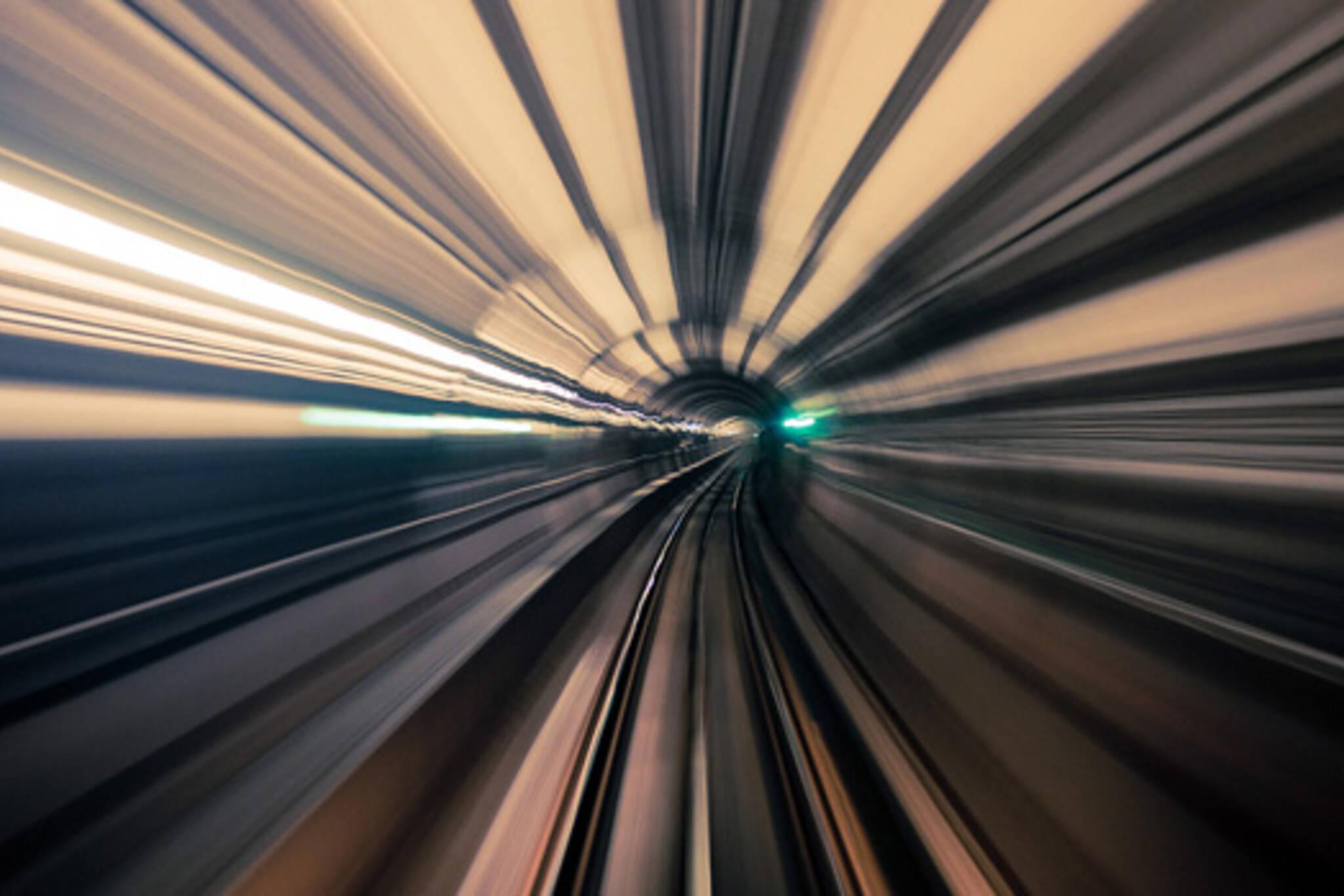 TTC tunnel photograph