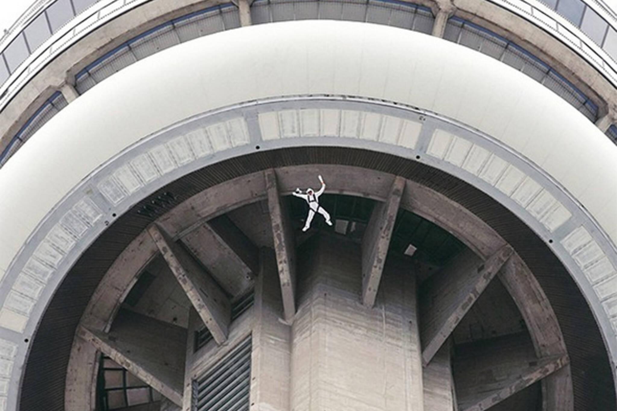 CN Tower BASE Jump