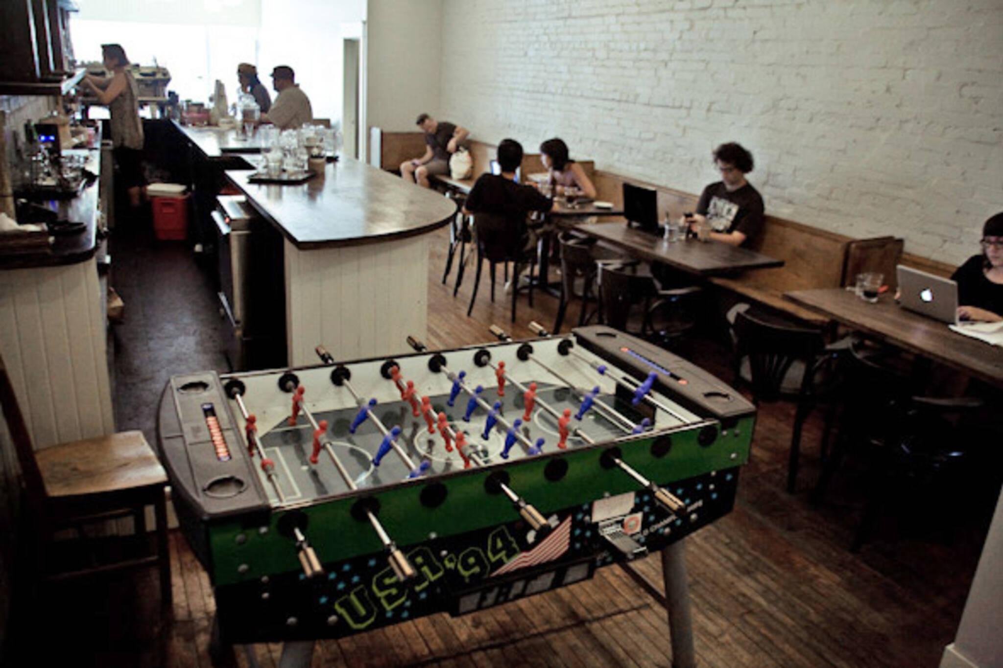 Bloorcourt Espresso Bar Toronto