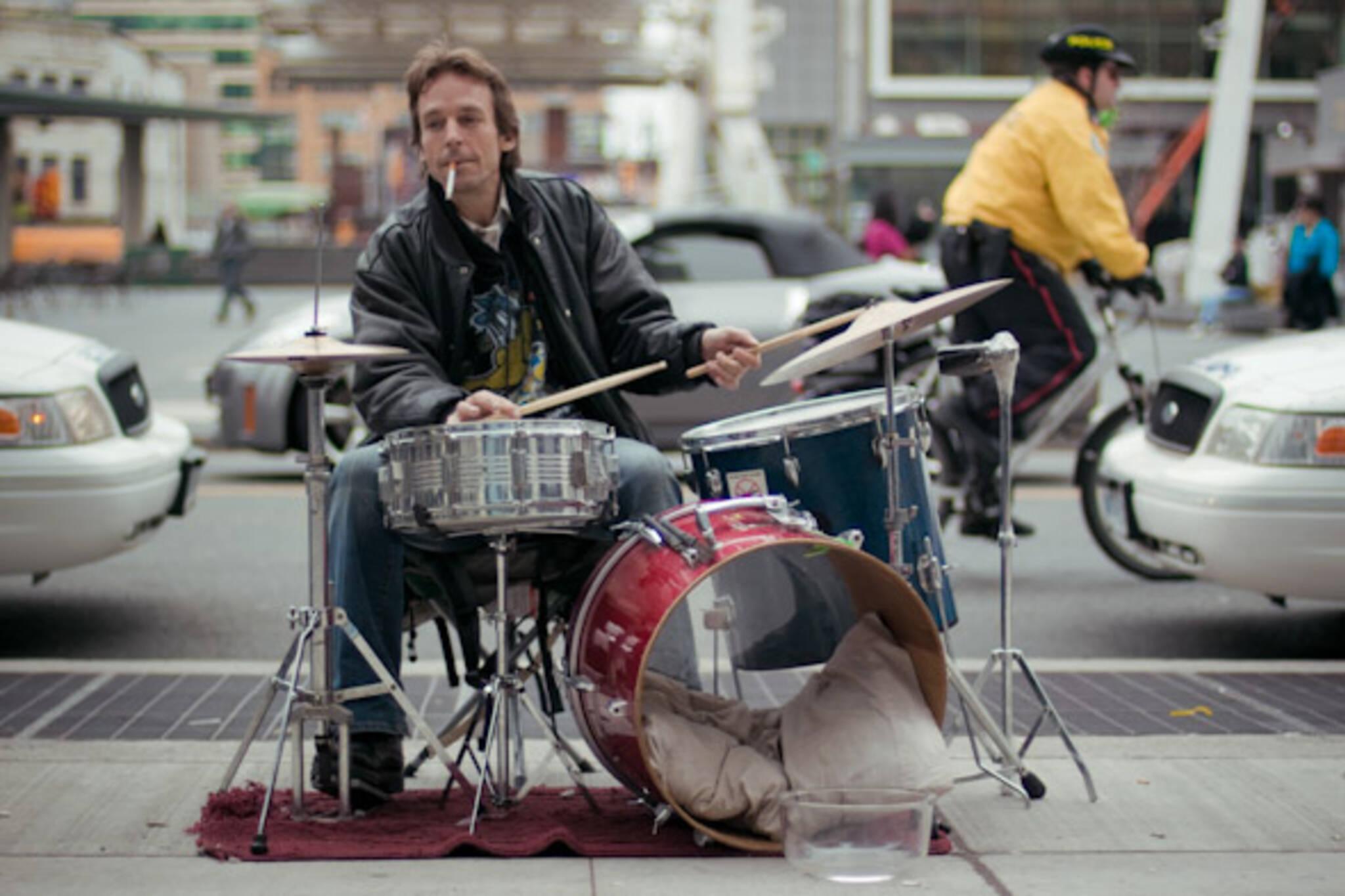 Toronto Street Busker Peter Richards