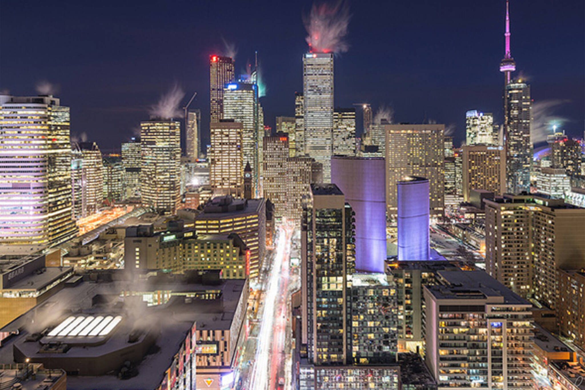 Toronto cold freeze