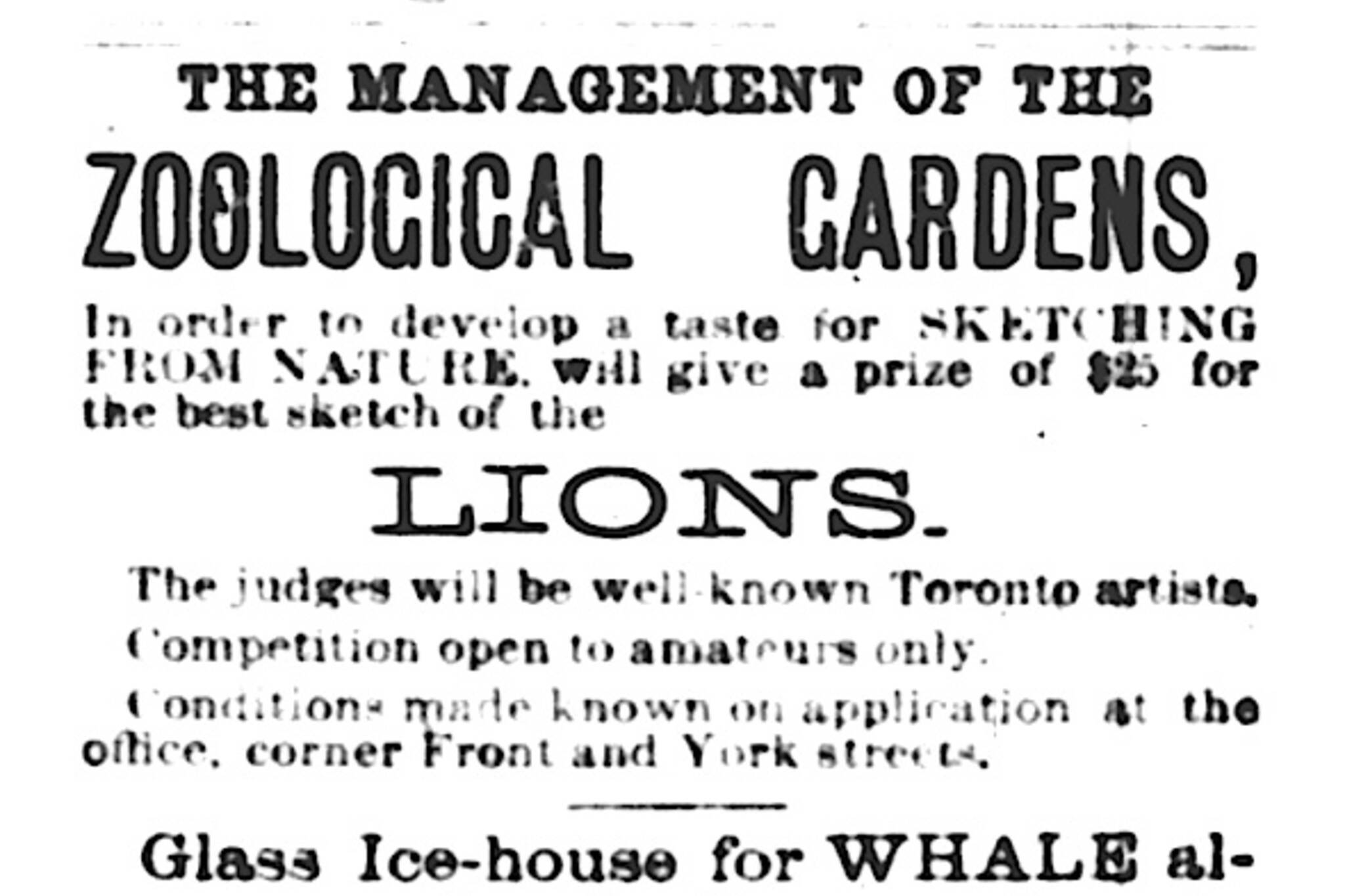 Toronto Zoo Historical