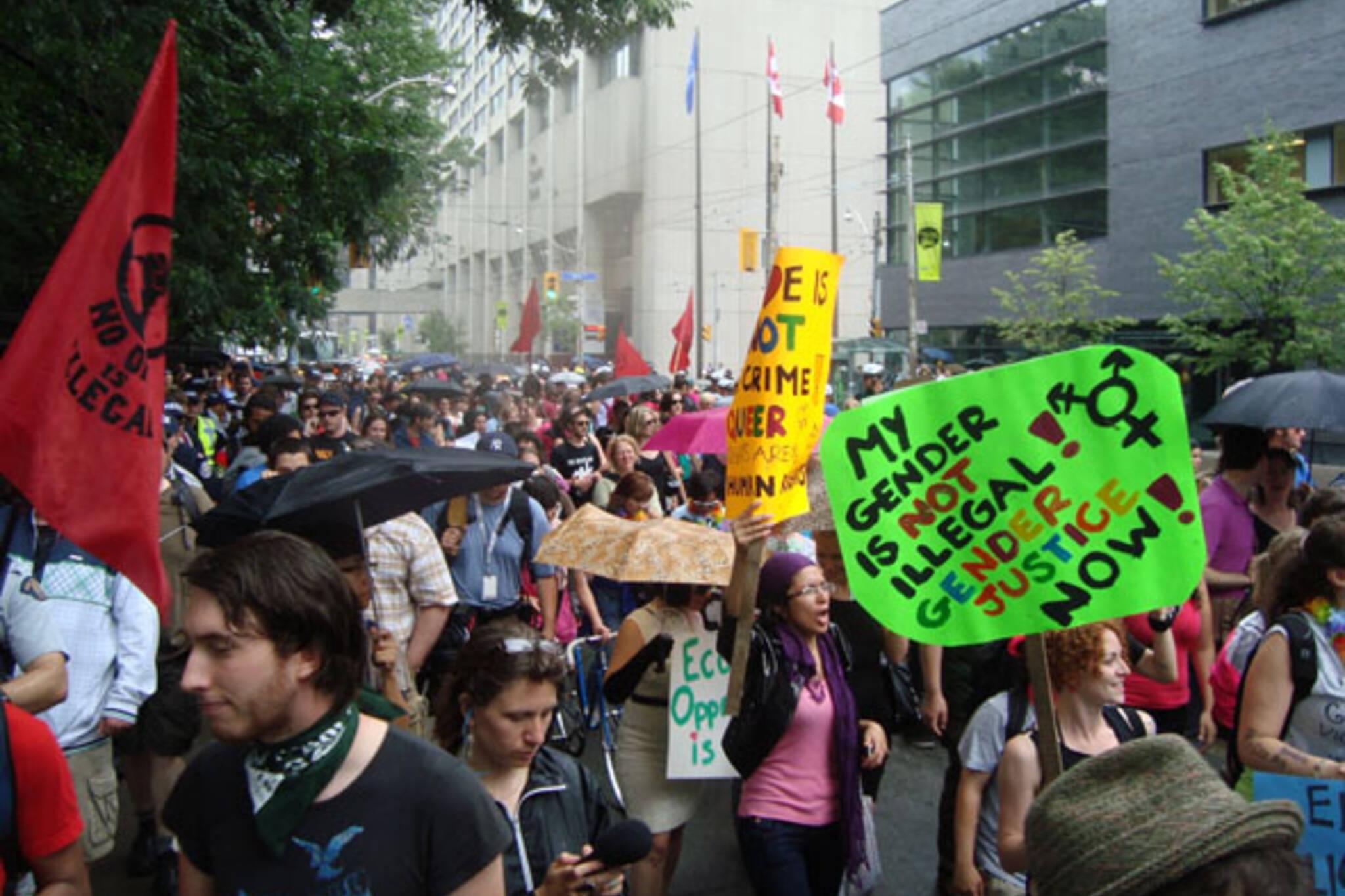 G20 protests toronto