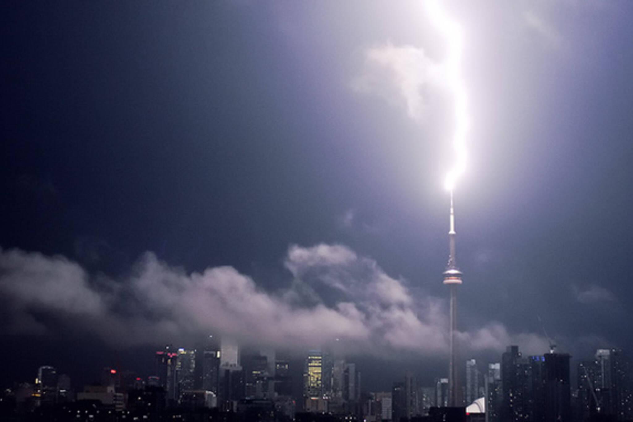Toronto Lightning Storm August 2011