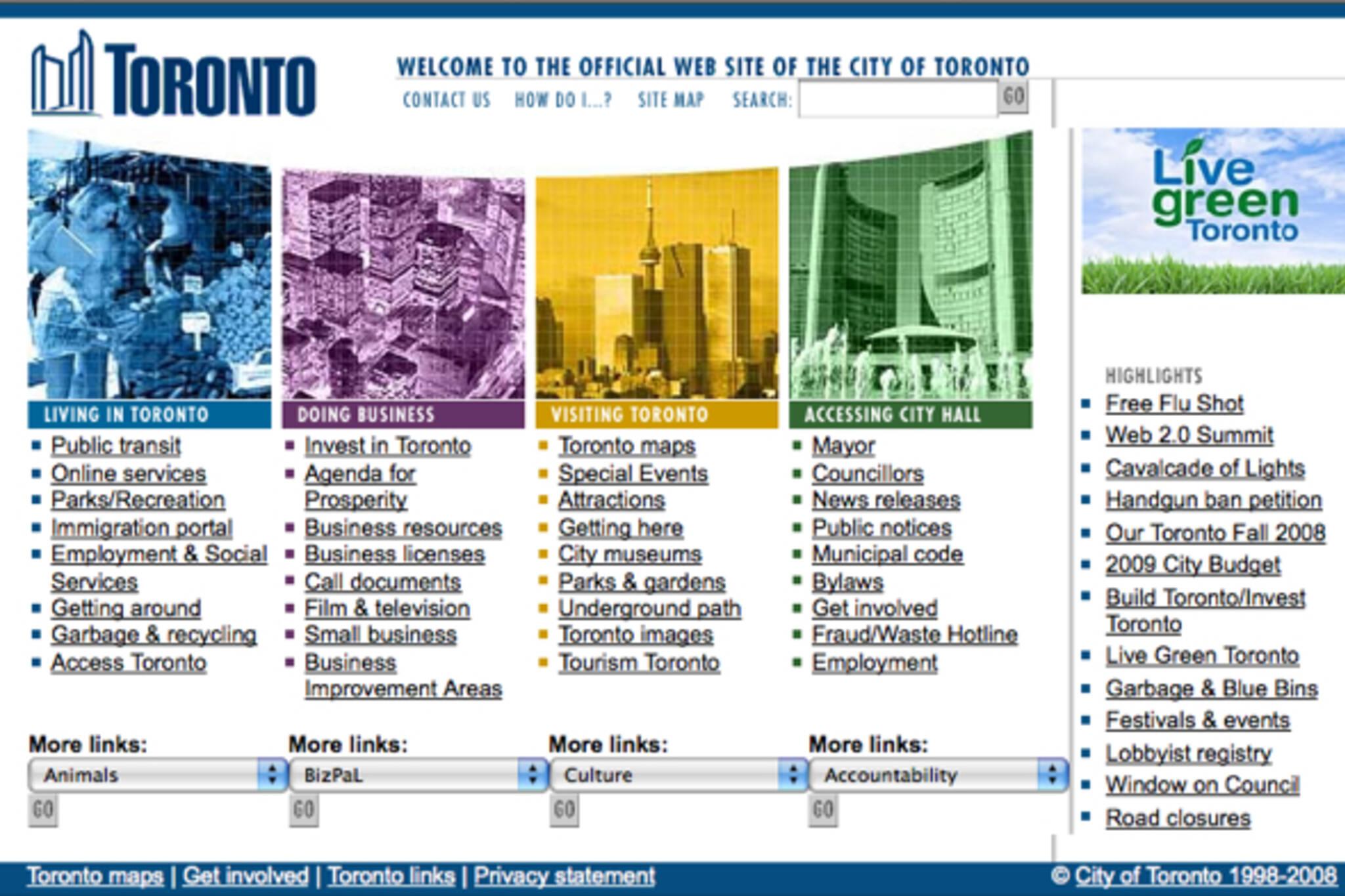 City of Toronto Web 2.0 Summit