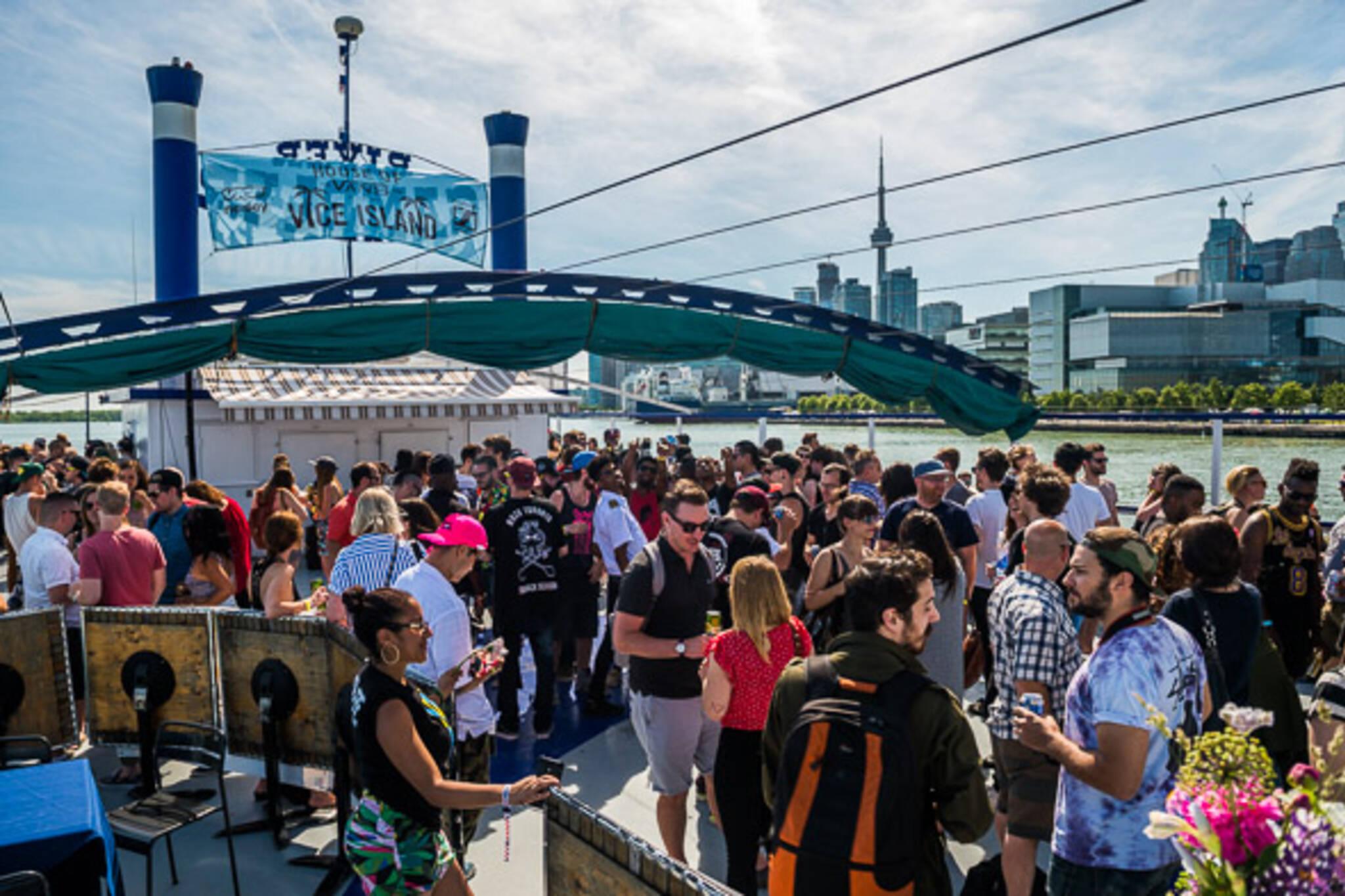 boat party toronto