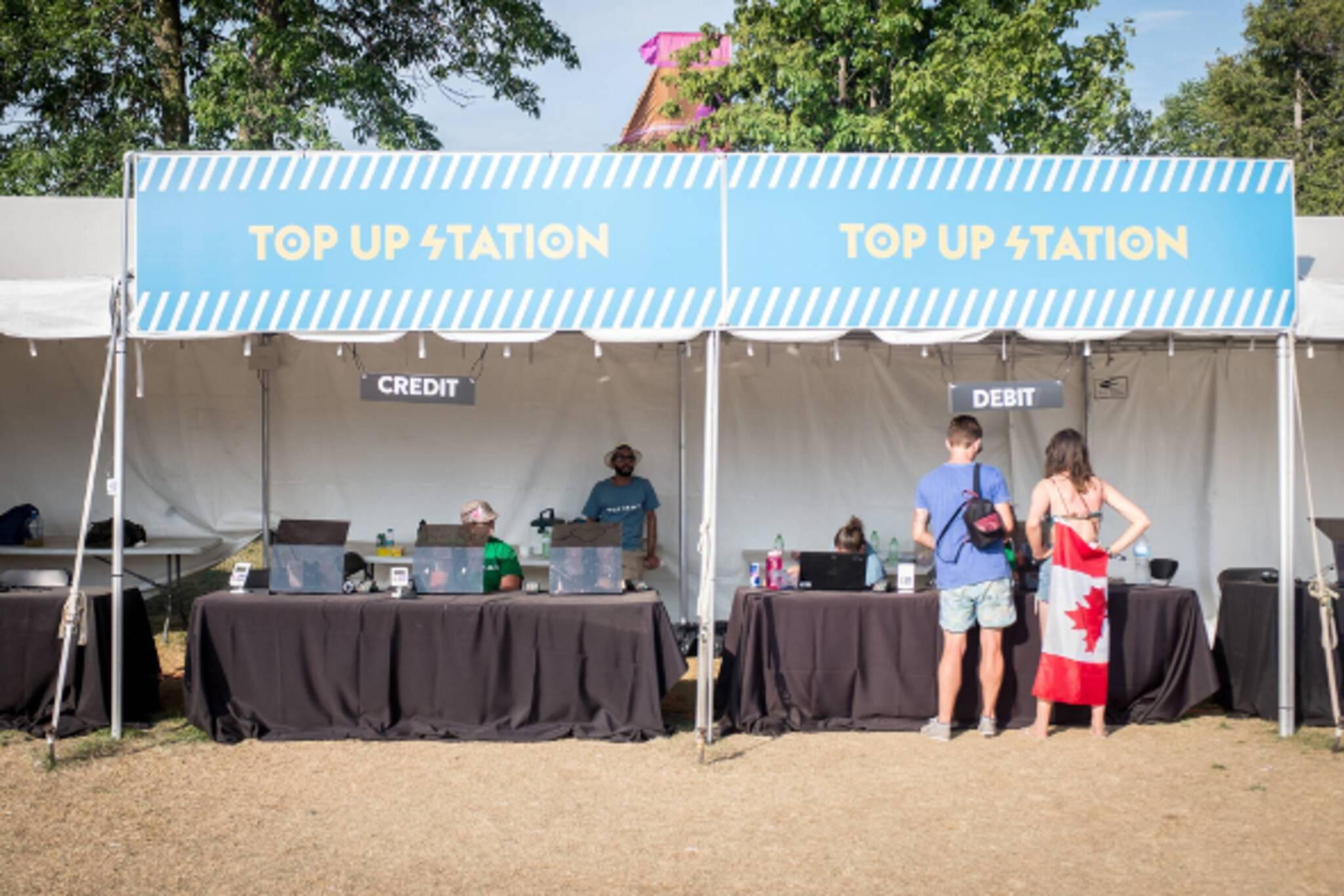 Toronto cashless music festivals