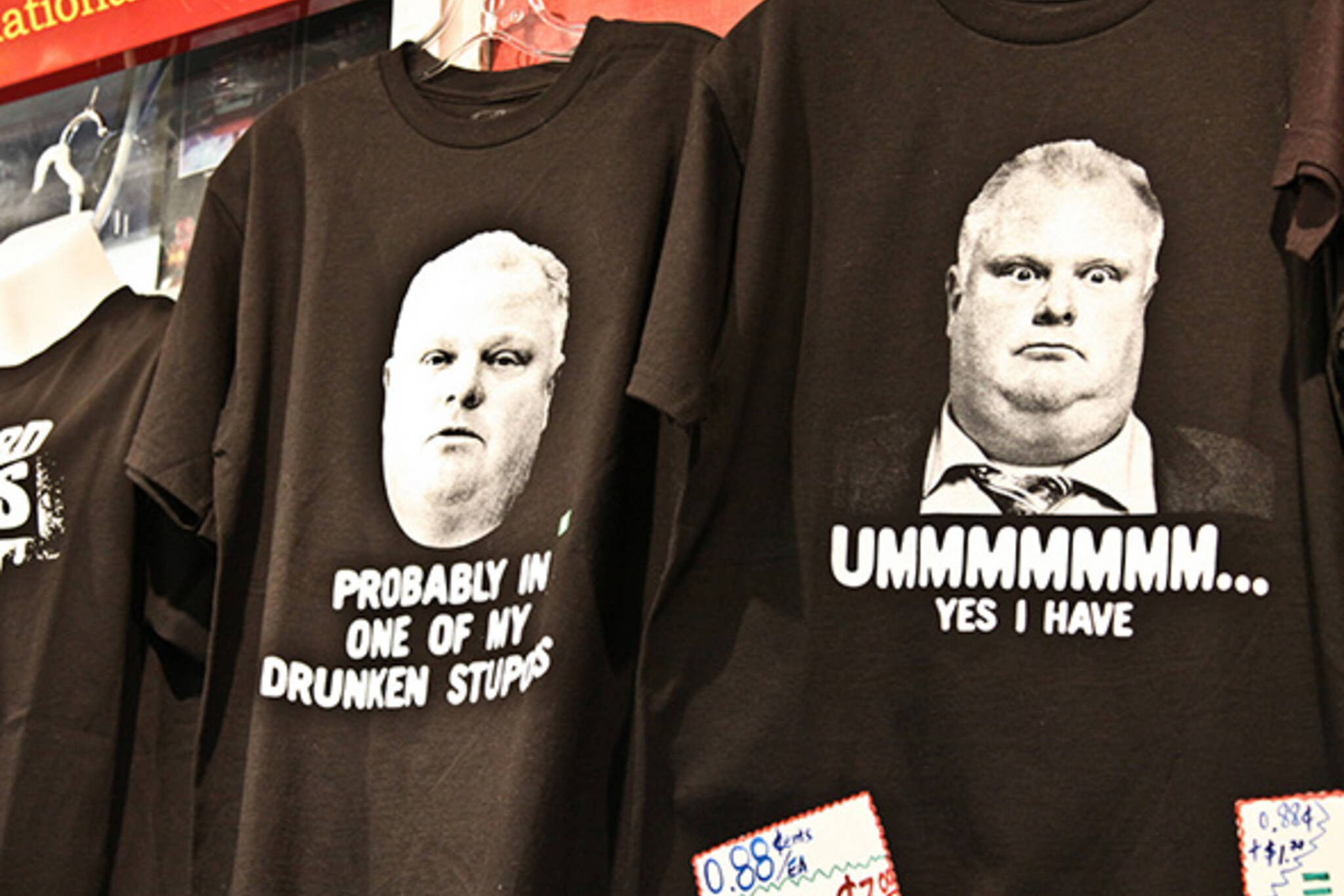Rob Ford t shirt