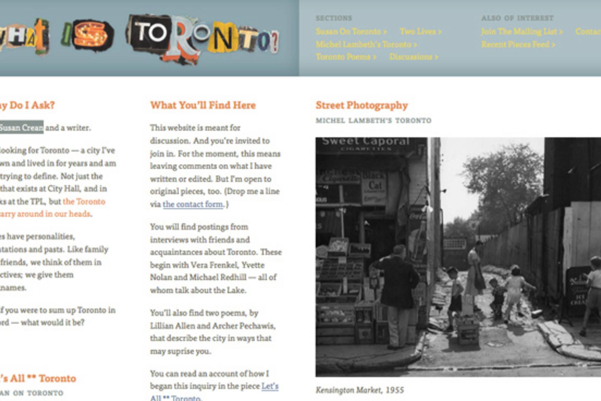 what is toronto website