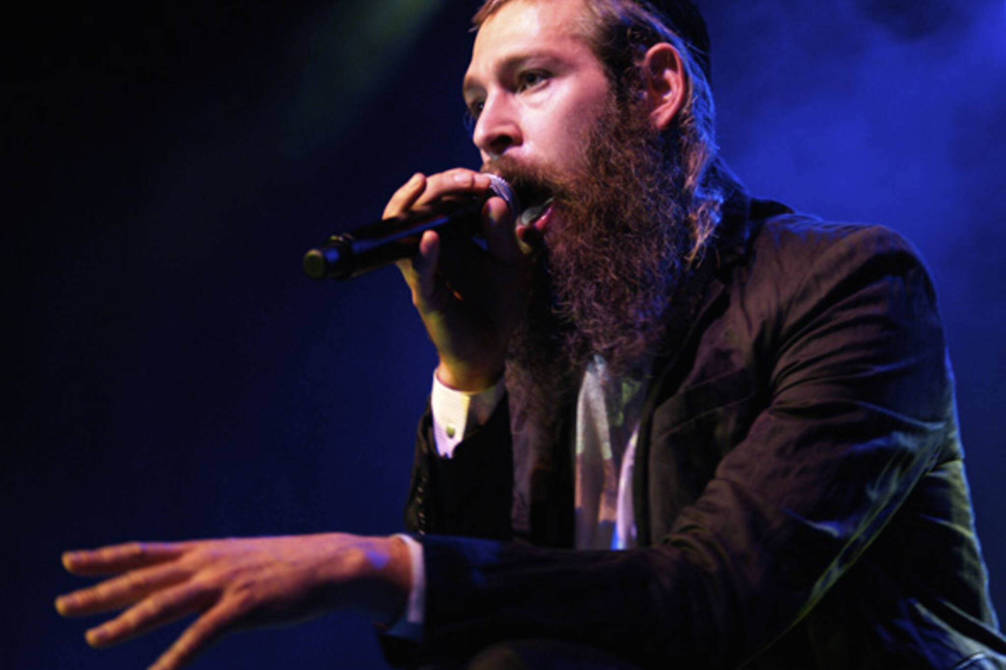 Matisyahu sings his brand of reggae music to a sold-out crowd at The Phoenix in Toronto