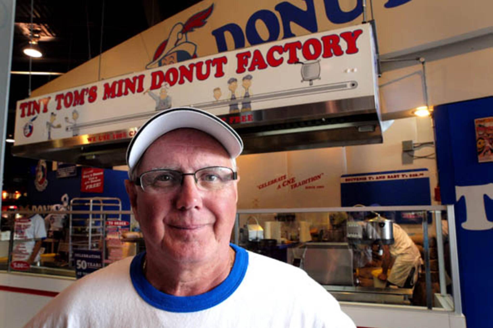 Tom Brazier of Tiny Tom Donuts