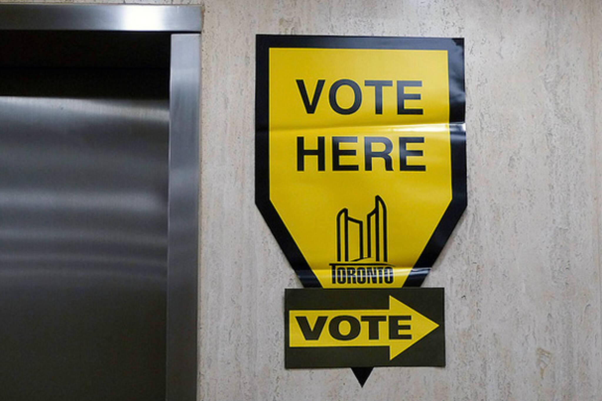Vote Provincial Election Toronto