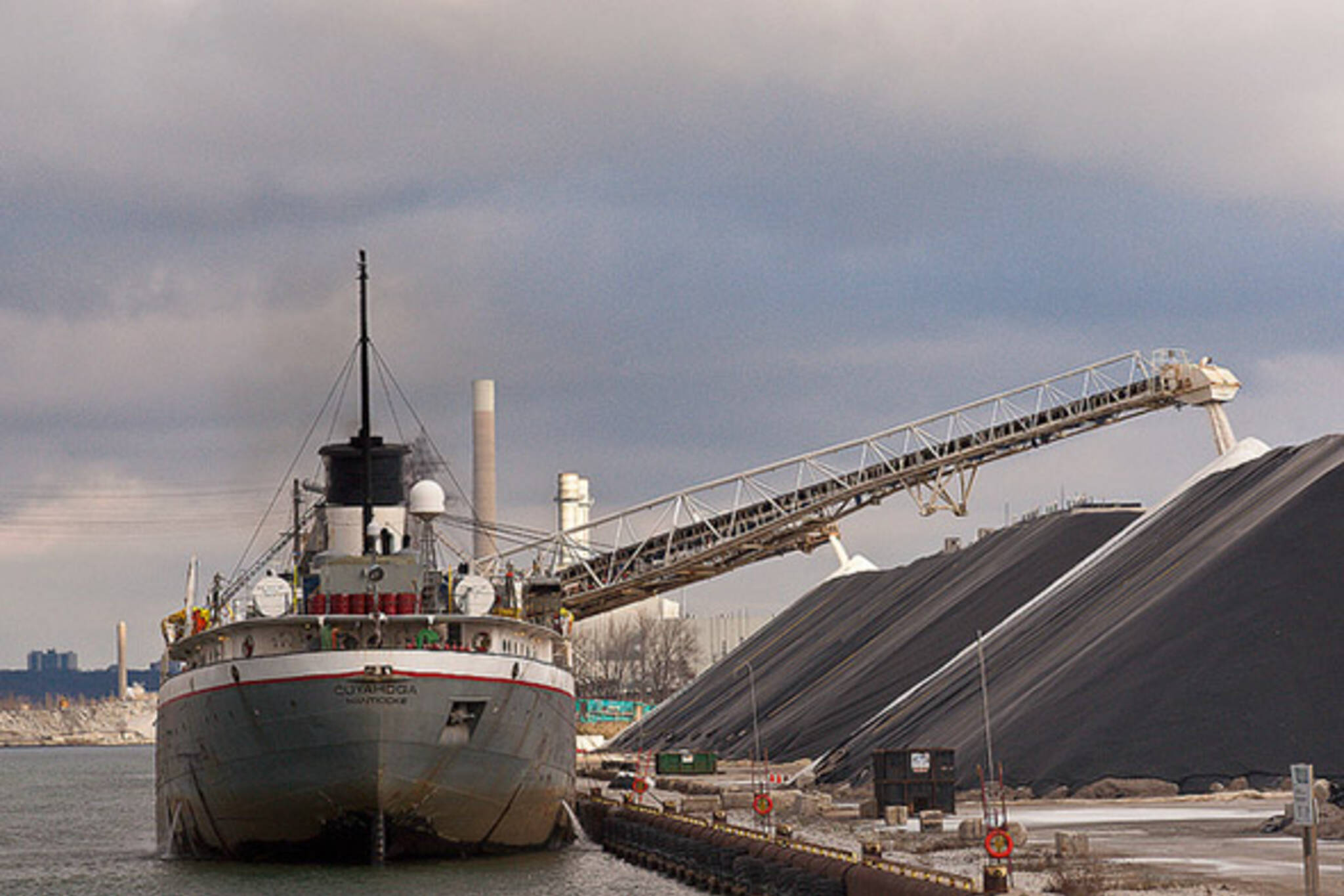 ship at portlands