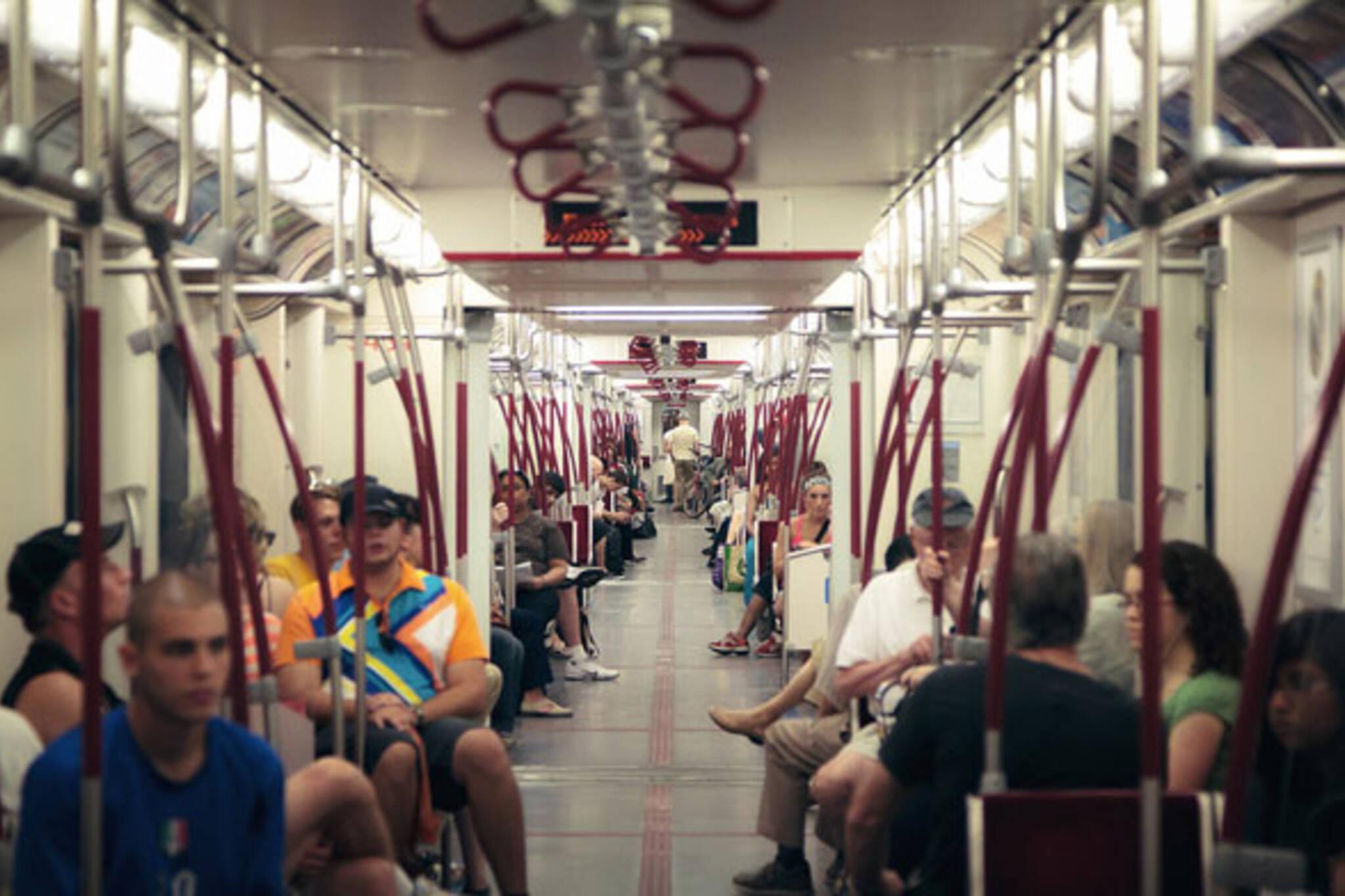 toronto subway rocket train ttc