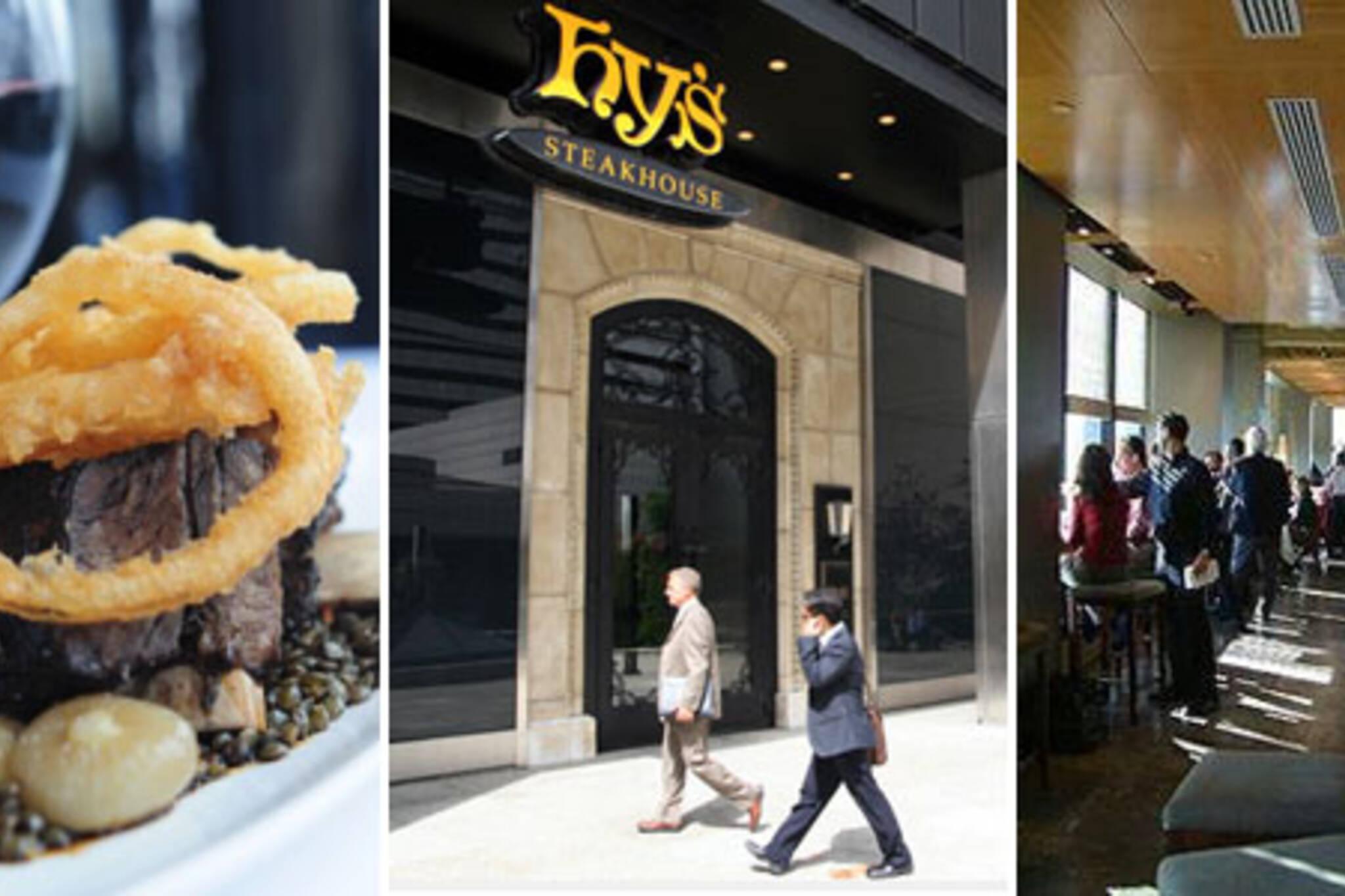 Bay Street Restaurants Power Lunch