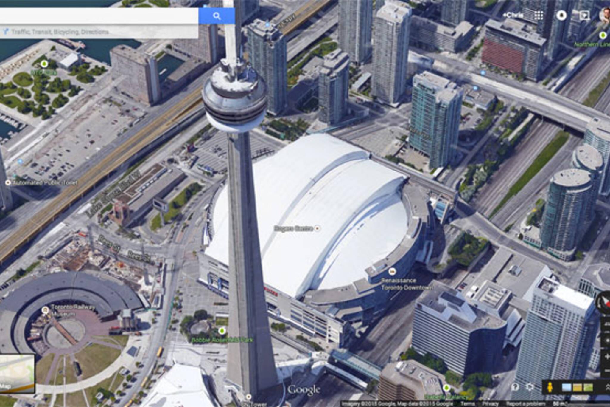 toronto google maps