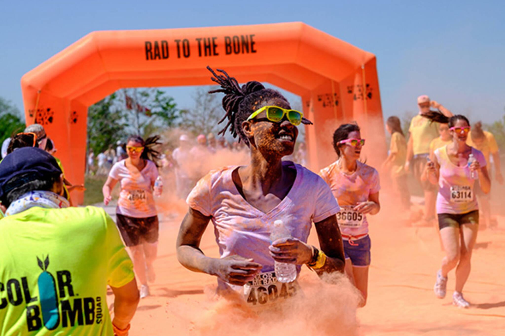 Colour me rad run toronto