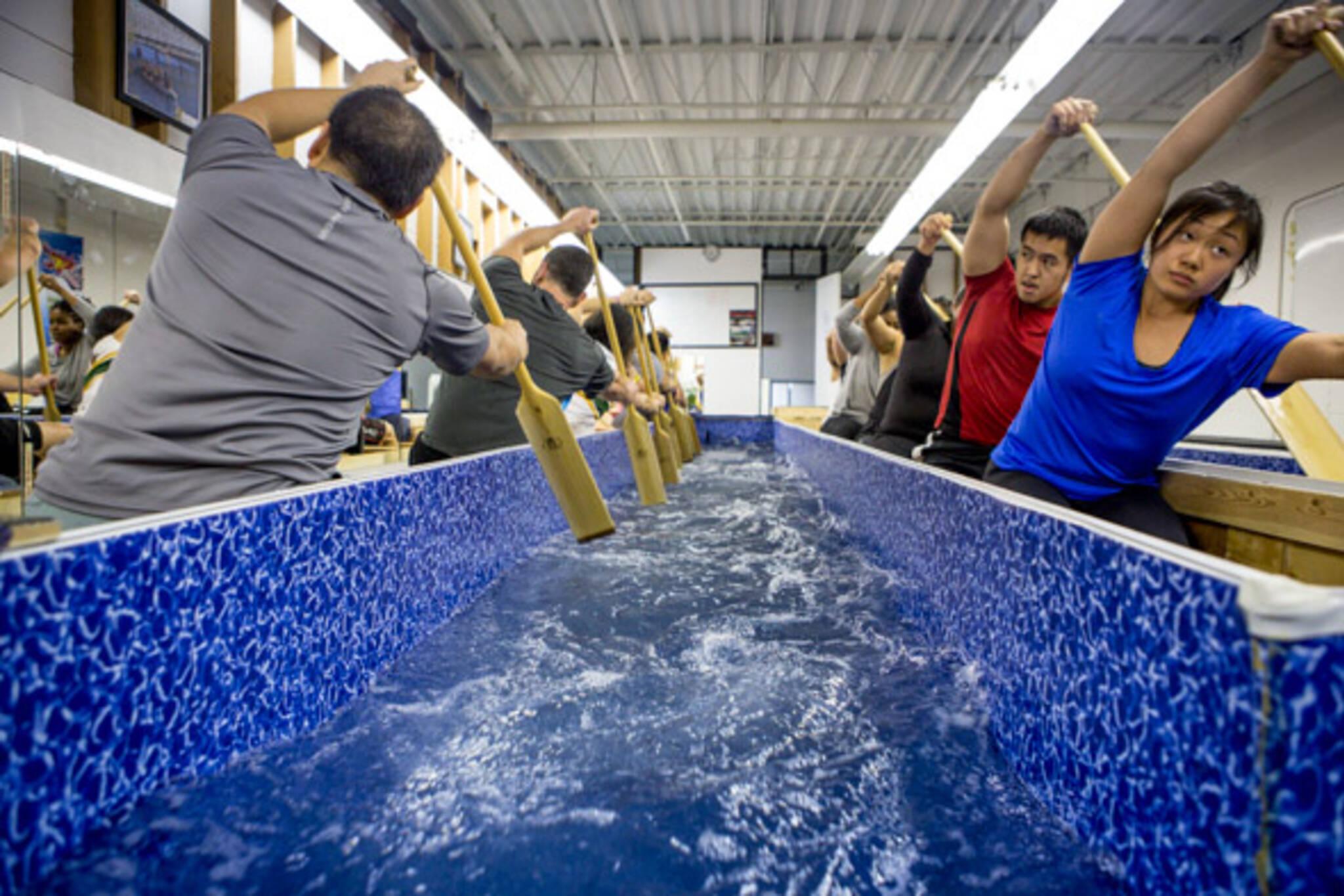 indoor paddling pool