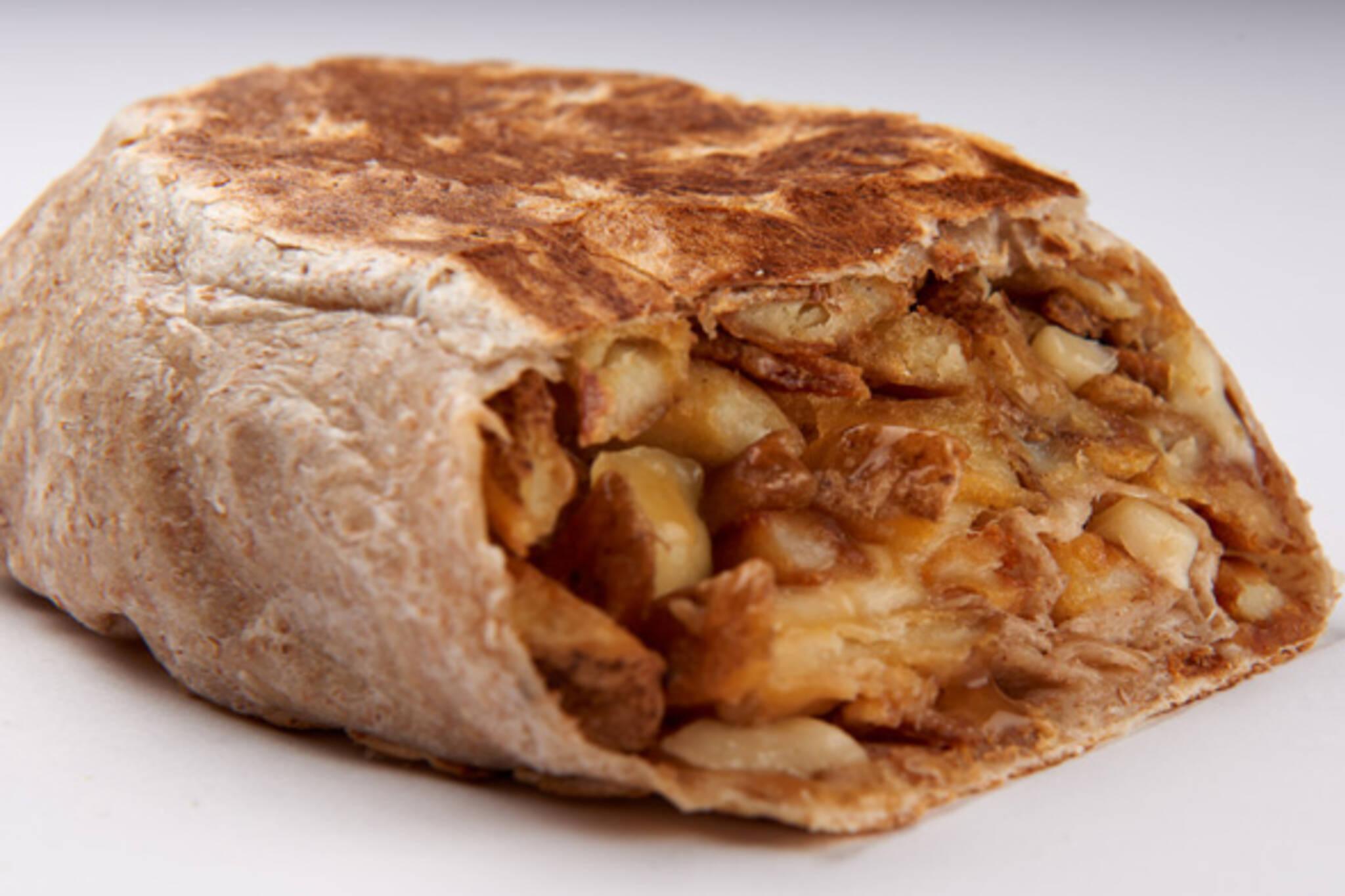 poutine burrito
