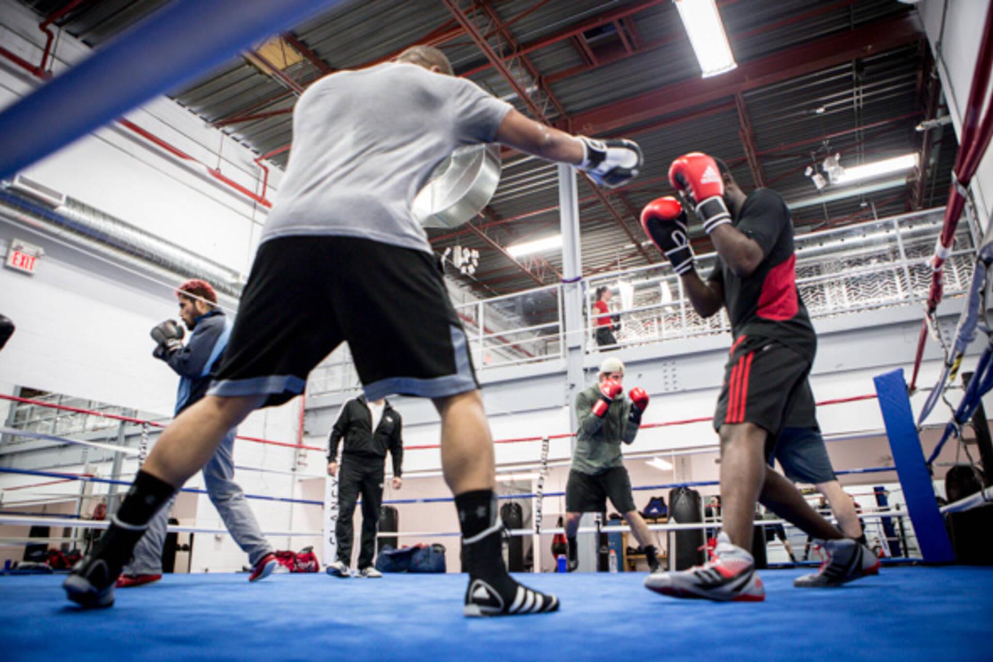 clancys boxing academy toronto
