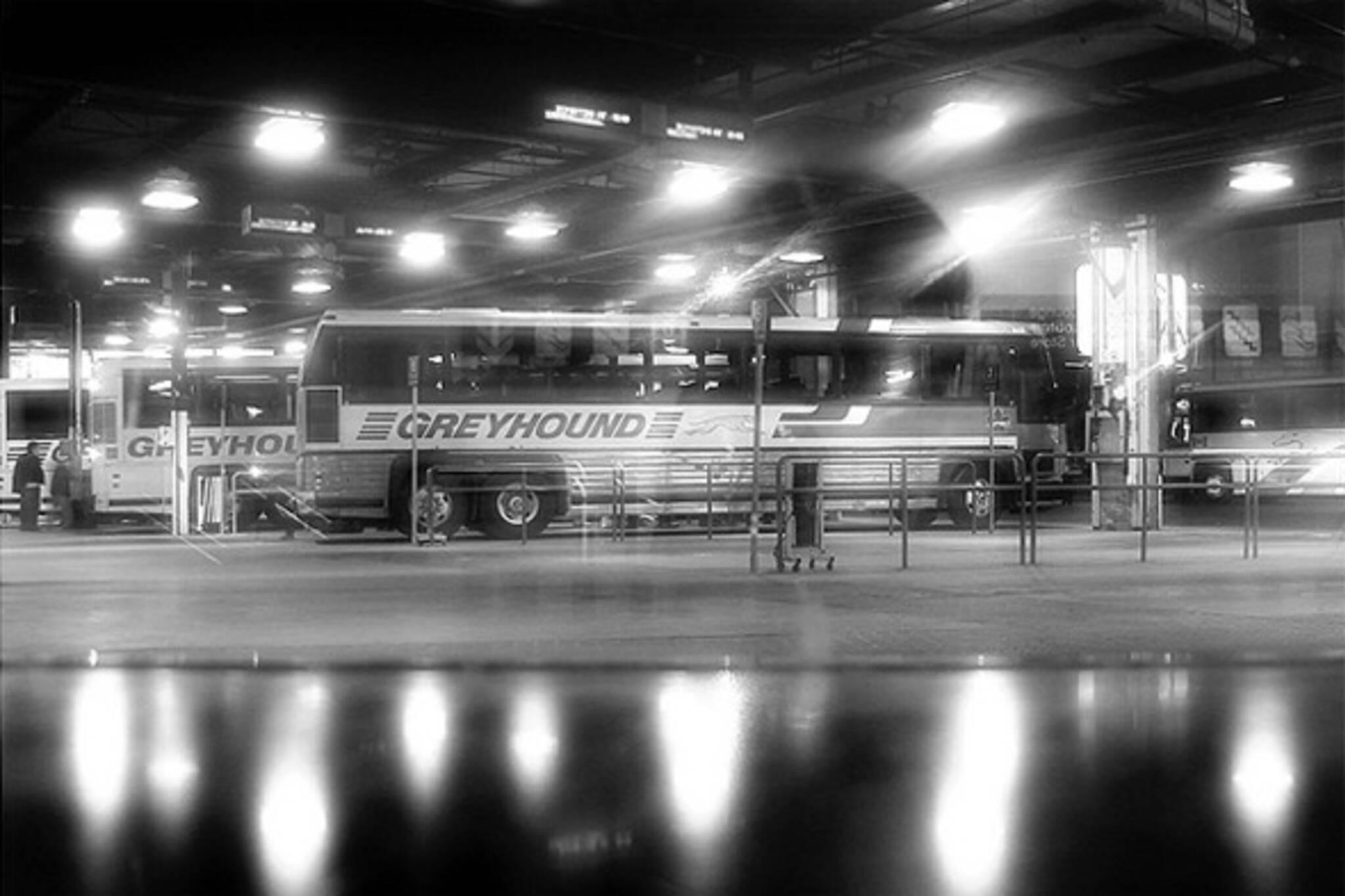 greyhound strike