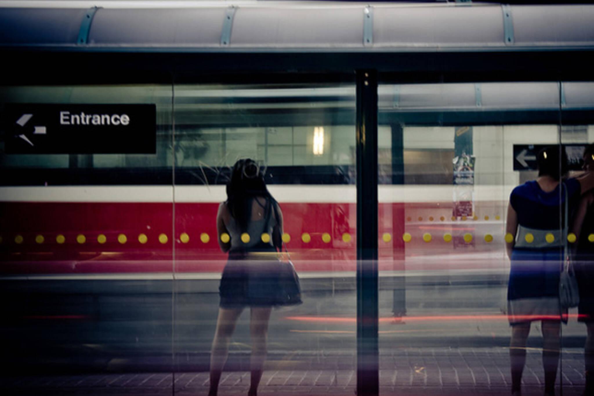 streetcar, streak, wait