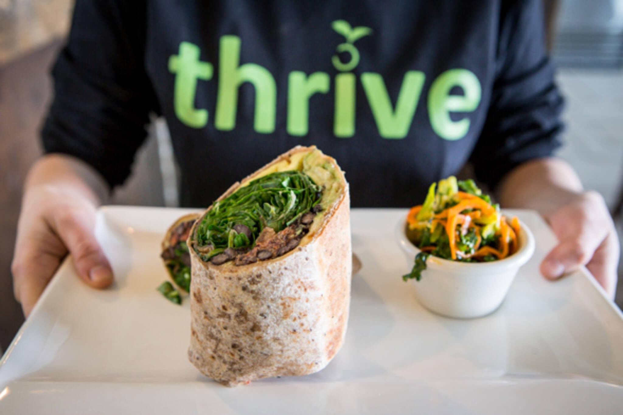 Thrive Organic Kitchen Toronto