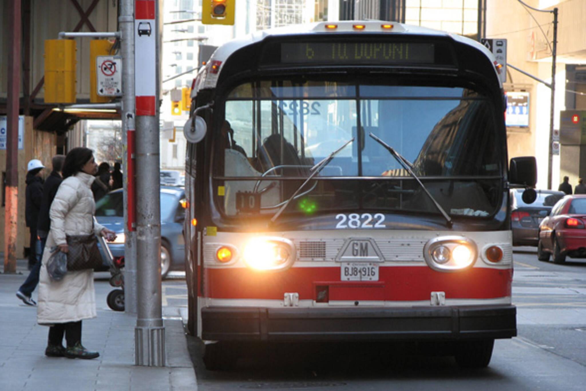 TTC Bus Service Cuts