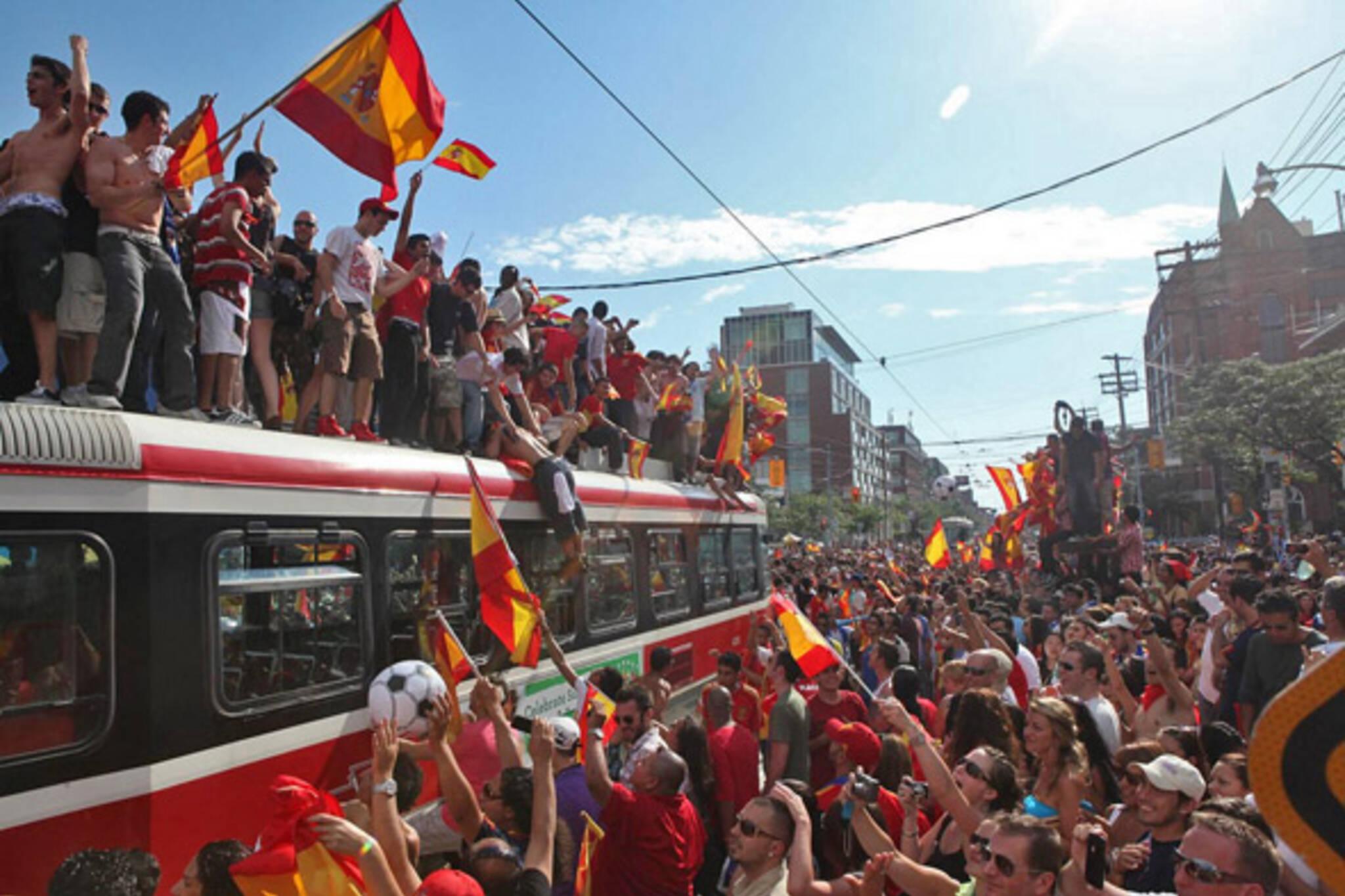 World Cup celebration toronto