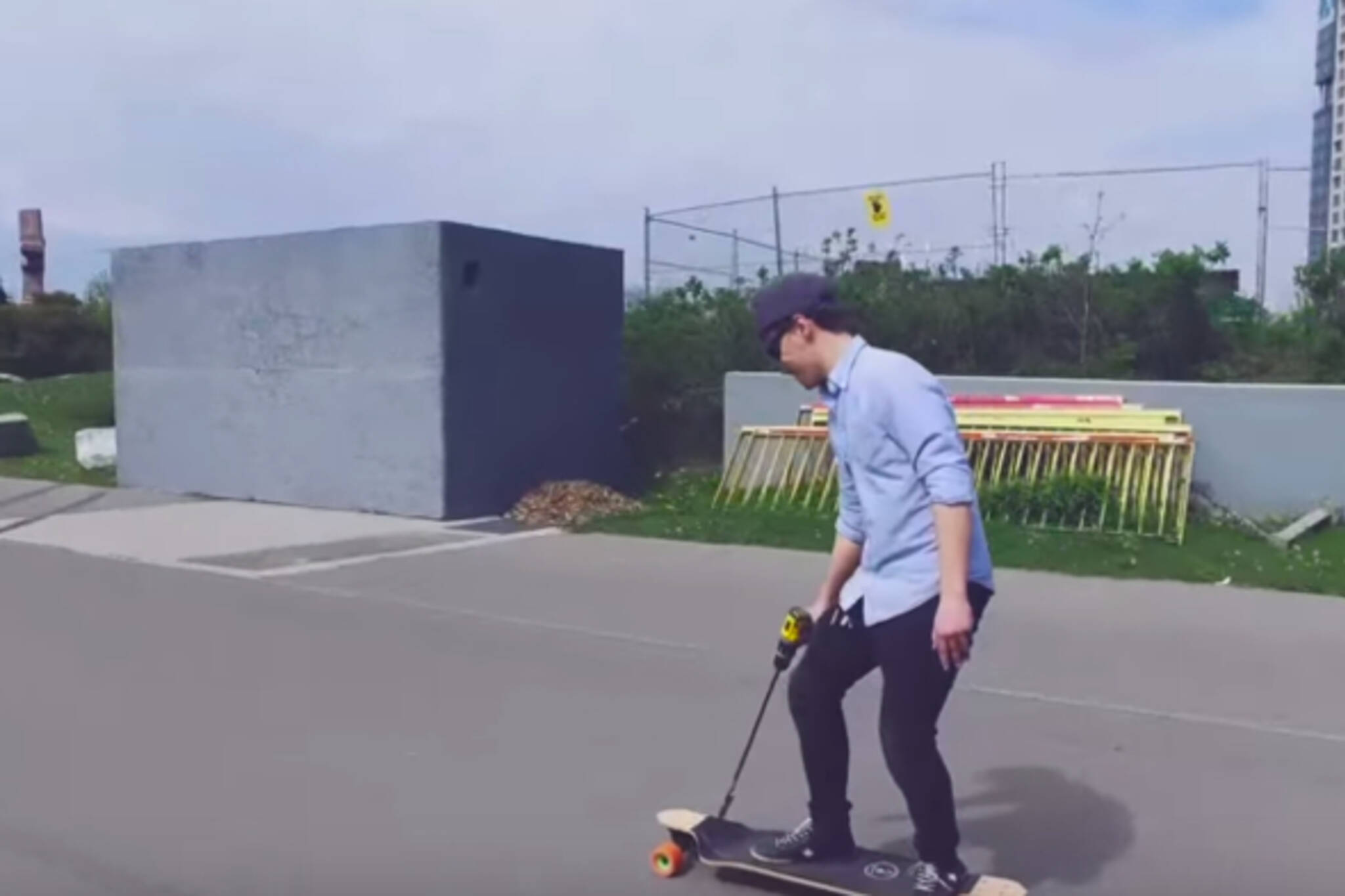 Drill skateboard Toronto