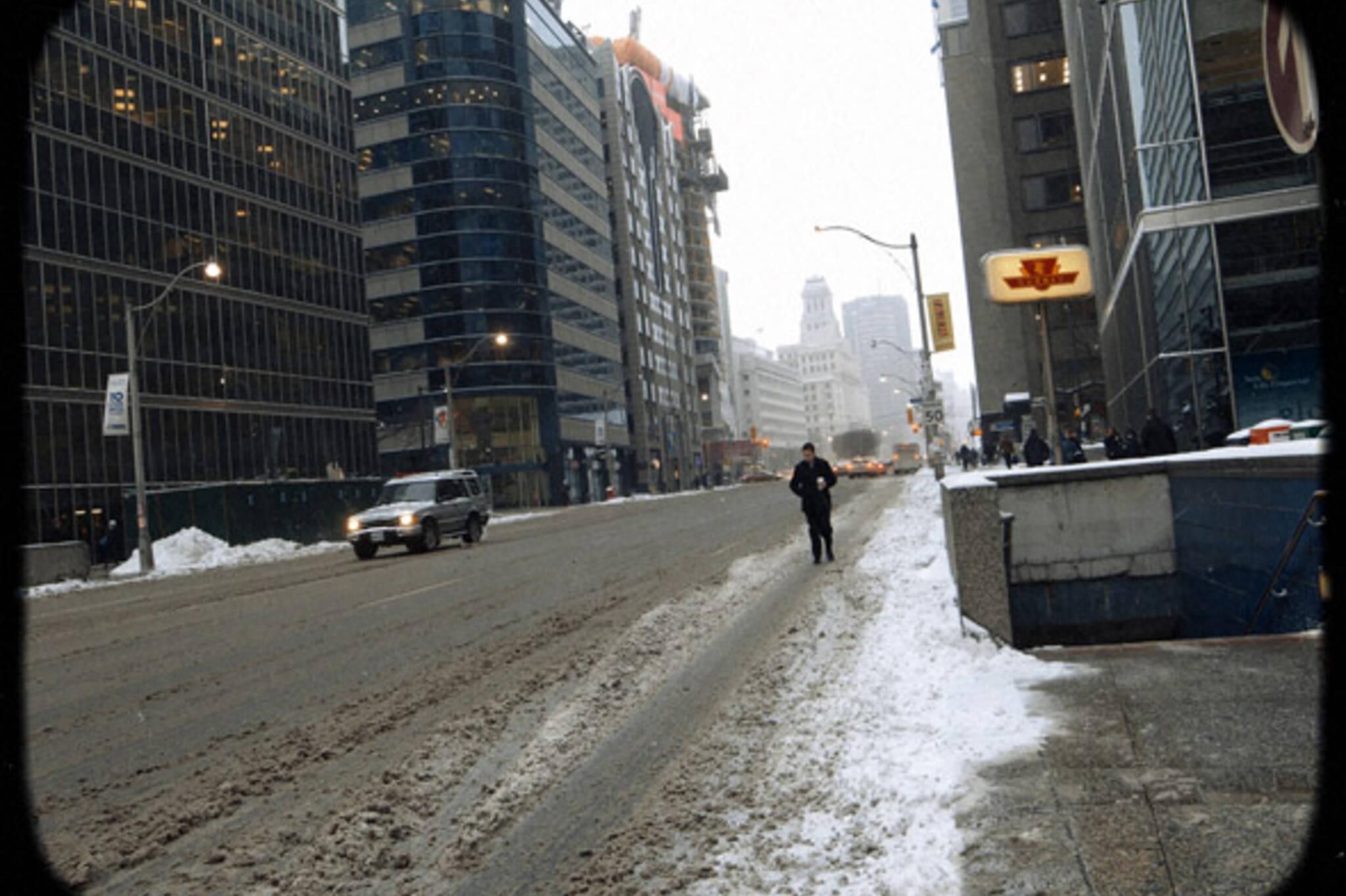 Snow Old Toronto