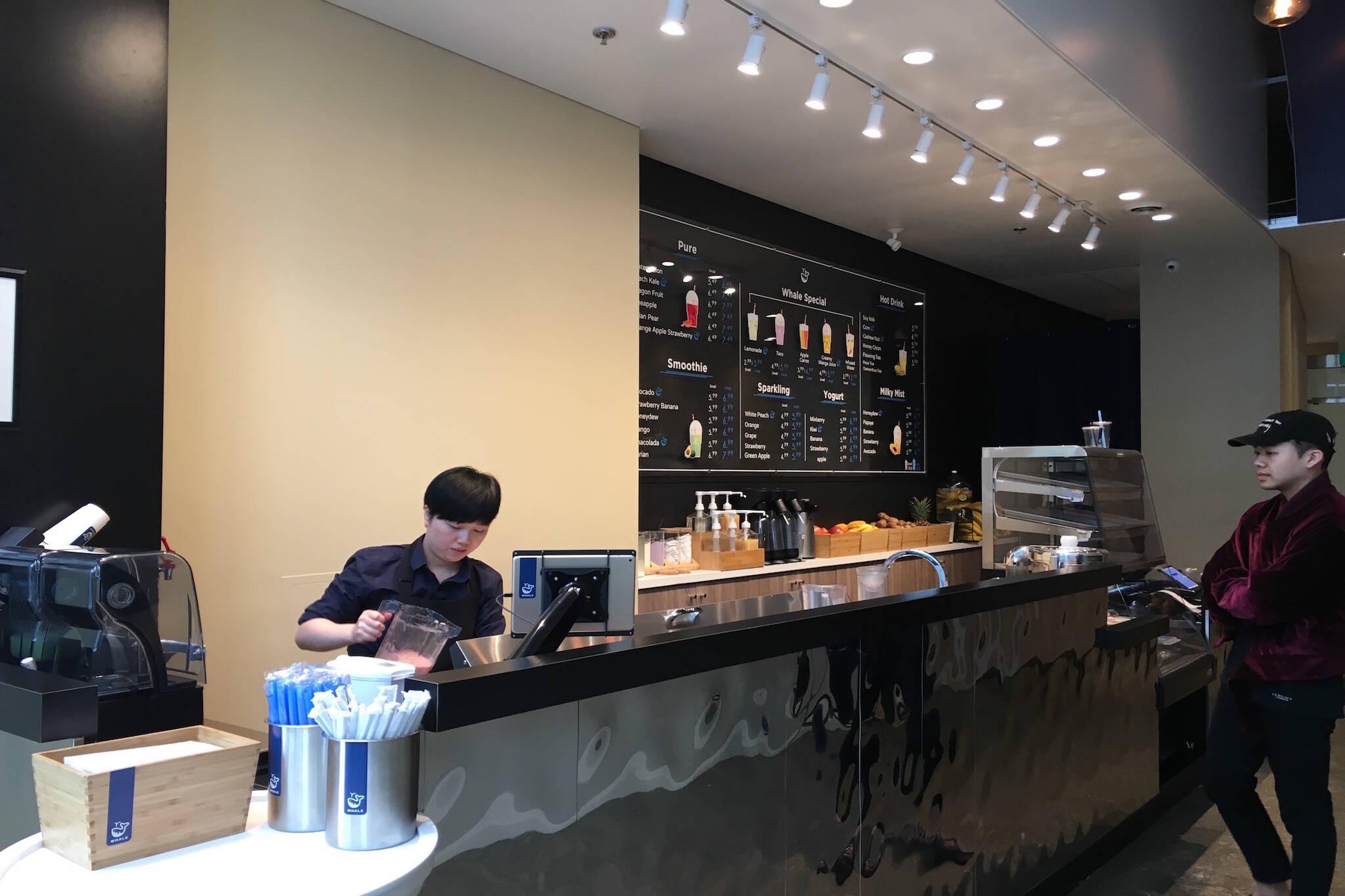 Whale Juice Blends Toronto