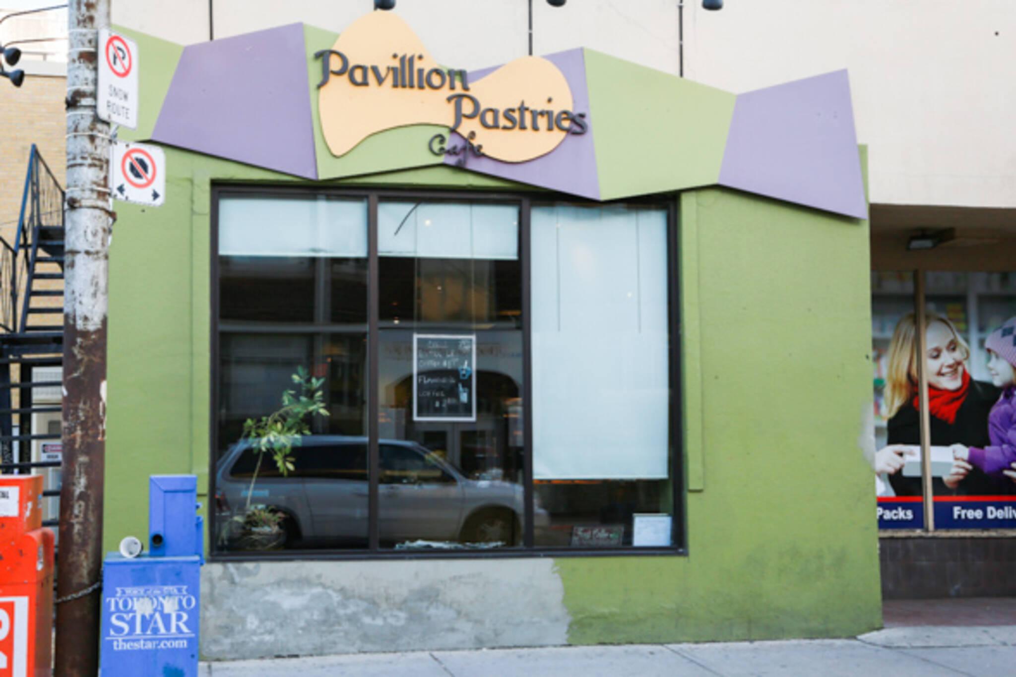 pavillion pastries