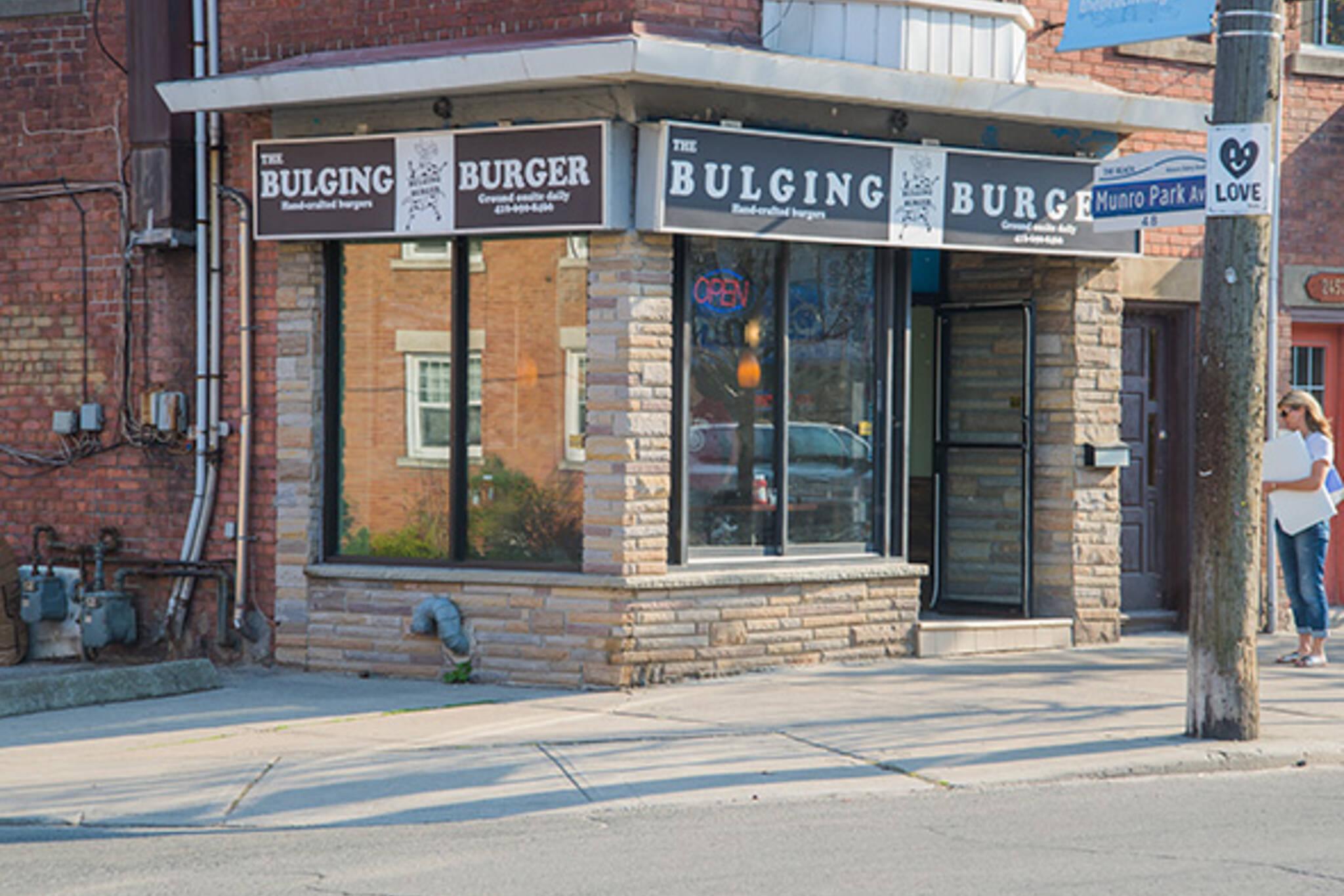 Bulging Burger