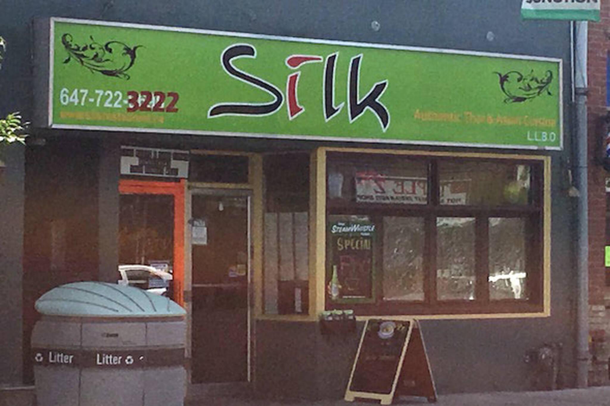 silk thai toronto