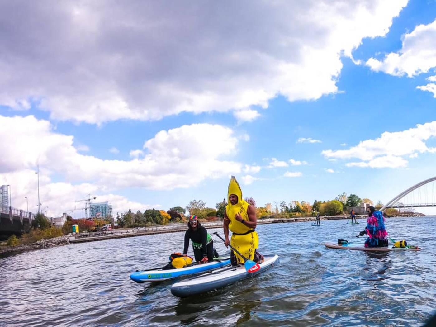 paddleboarding toronto